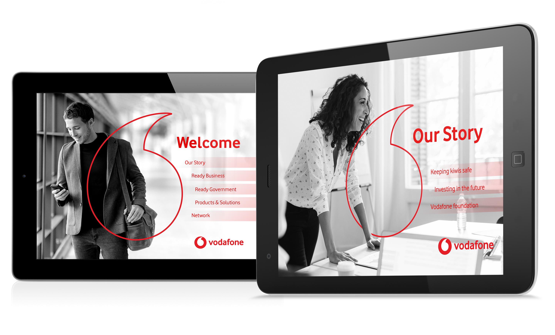 Vodafone Menu